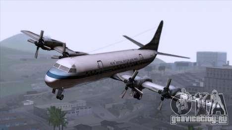 L-188 Electra KLM v2 для GTA San Andreas