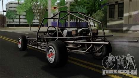 GTA 5 Space Docker SA Mobile для GTA San Andreas вид слева