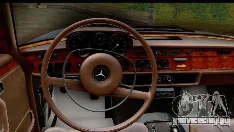 Mercedes-Benz 300 SEL 6.3 (W109) 1967 IVF АПП для GTA San Andreas вид изнутри
