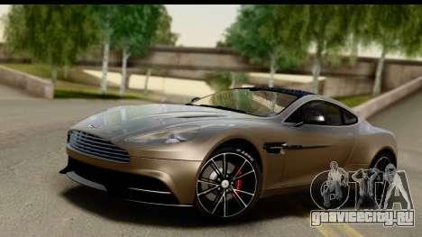 Aston Martin Vanquish 2013 Road version для GTA San Andreas