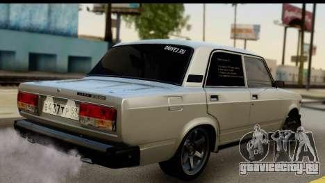 ВАЗ 21074 для GTA San Andreas вид слева