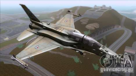 F-16F Fighting Falcon United Arab Emirates для GTA San Andreas