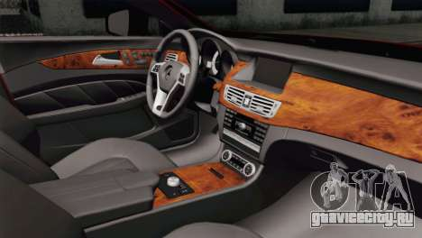 Mercedes-Menz CLS63 AMG для GTA San Andreas вид справа