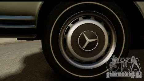 Mercedes-Benz 300 SEL 6.3 (W109) 1967 IVF АПП для GTA San Andreas вид сзади