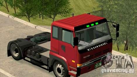 Nissan Diesel Bigthumb CK для GTA San Andreas вид слева