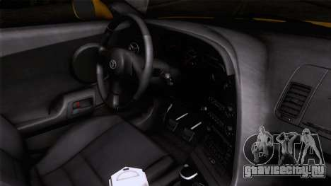 Toyota Supra US-Spec (JZA80) 1993 IVF АПП для GTA San Andreas вид справа
