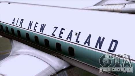 L-188 Electra Air New Zealand для GTA San Andreas вид сзади