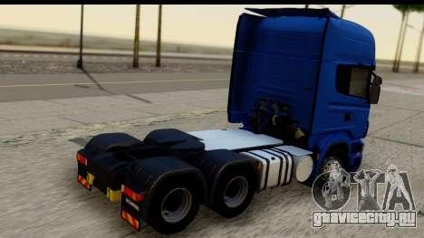 Scania G 4х6 для GTA San Andreas вид слева