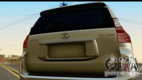 Lexus GX460 для GTA San Andreas вид справа