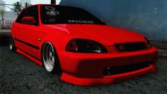 Honda Civic DRY Garage для GTA San Andreas