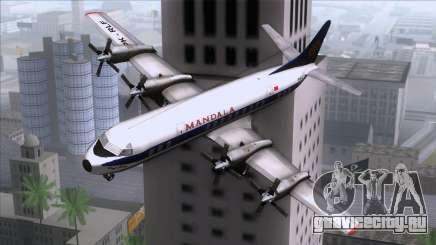 L-188 Electra Mandala Airlines для GTA San Andreas