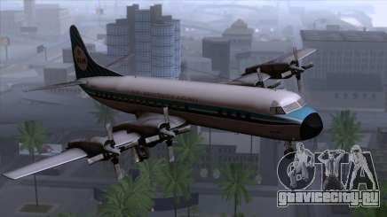 L-188 Electra KLM v1 для GTA San Andreas
