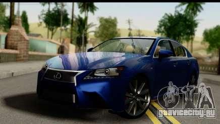 Lexus GS350 седан для GTA San Andreas