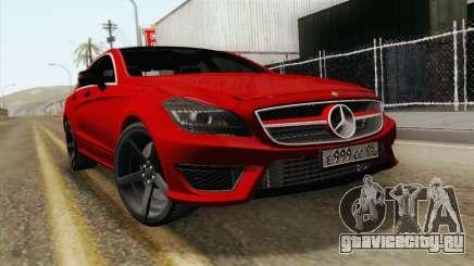 Mercedes-Menz CLS63 AMG для GTA San Andreas