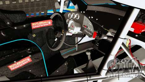 NASCAR Dodge Charger 2012 Plate Track для GTA San Andreas вид справа