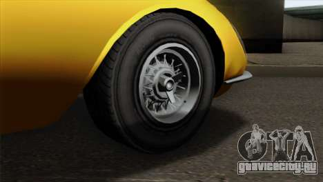 GTA 5 Grotti Stinger v2 для GTA San Andreas вид сзади слева