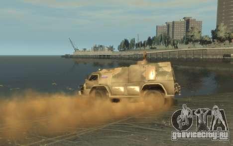 ГАЗ 3937 «Водник» для GTA 4 вид сзади