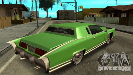Beta Remington для GTA San Andreas вид слева