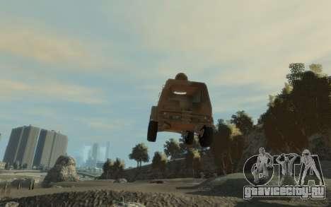 ГАЗ 3937 «Водник» для GTA 4 вид справа