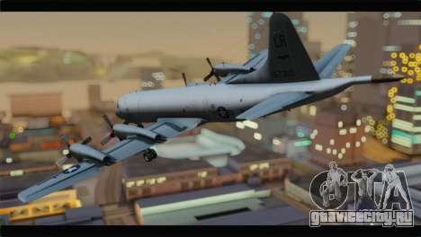 Lockheed P-3C Orion US Navy VP-24 для GTA San Andreas вид слева