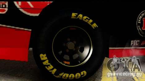 Elegy NASCAR PJ для GTA San Andreas вид сзади слева