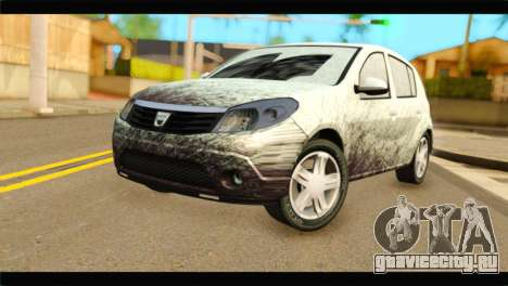 Dacia Sandero Dirty Version для GTA San Andreas