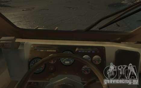 ГАЗ 3937 «Водник» для GTA 4 вид изнутри