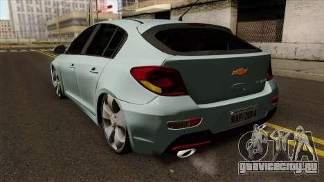 Chevrolet Cruze Hatchback для GTA San Andreas вид слева