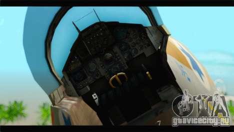 Boeing F-15C IAF для GTA San Andreas вид сзади