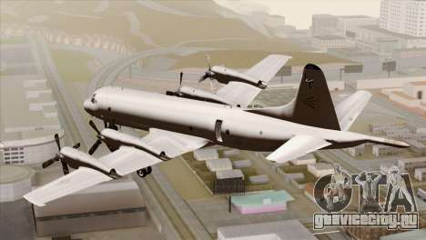 Lockheed P-3C Orion JMSDF Shimofusa для GTA San Andreas вид слева