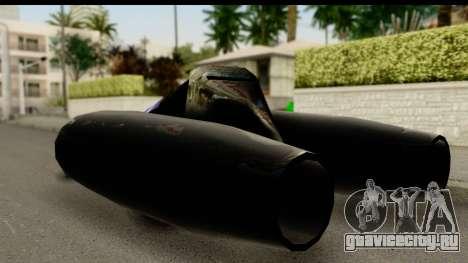 Jet Car для GTA San Andreas вид слева