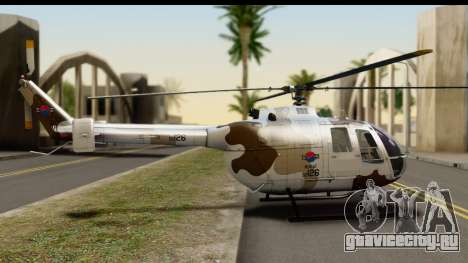 MBB Bo-105 Korean Army для GTA San Andreas вид слева