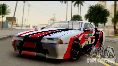 Elegy NASCAR PJ 2 для GTA San Andreas вид справа
