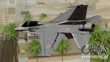 F-16D Fighting Falcon для GTA San Andreas вид слева