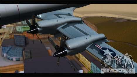 Lockheed P-3C Orion US Navy VP-24 для GTA San Andreas вид справа