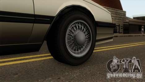 GTA 4 Willard II для GTA San Andreas вид сзади слева