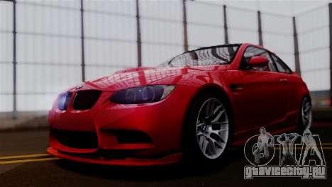 BMW M3 E92 GTS 2012 v2.0 Final для GTA San Andreas вид сзади слева