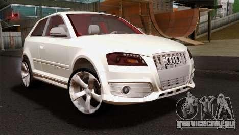 Audi S3 2011 для GTA San Andreas