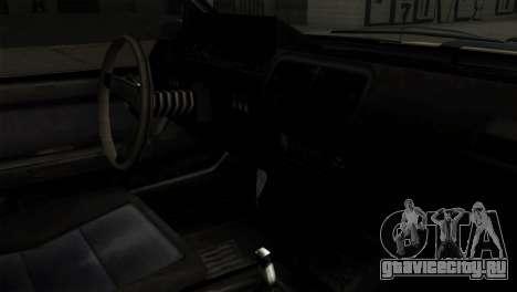 GTA 4 Willard II для GTA San Andreas вид справа