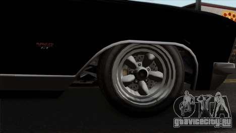 GTA 5 Albany Buccaneer для GTA San Andreas вид сзади слева