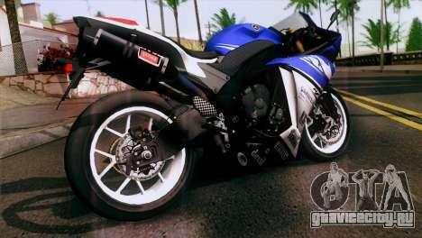 Yamaha YZF-R1 PJ для GTA San Andreas вид слева