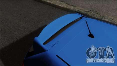 Honda Civic Type R EP3 для GTA San Andreas вид сзади