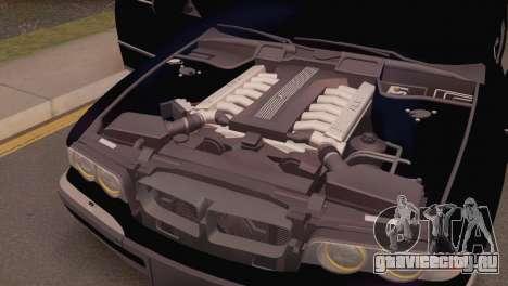 BMW 750iL E38 для GTA San Andreas вид справа