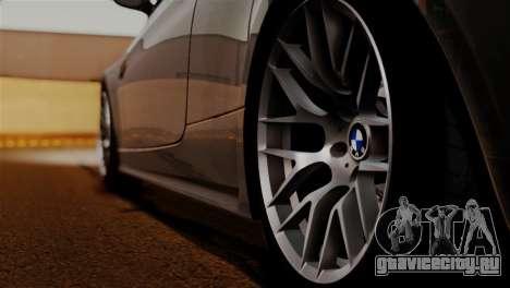 BMW M3 E92 GTS 2012 v2.0 Final для GTA San Andreas вид сверху