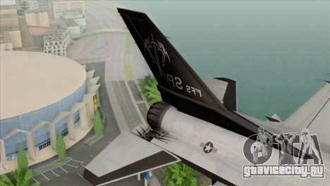 F-16C Fighting Falcon Wind Sword Squadron для GTA San Andreas вид сзади слева