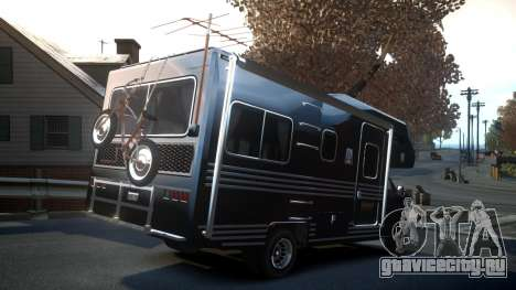 GTA IV Steed Camper для GTA 4 вид сзади