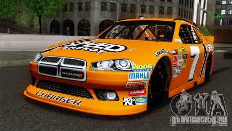 NASCAR Dodge Charger 2012 Short Track для GTA San Andreas