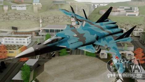 SU-47 Berkut Winter Camo для GTA San Andreas