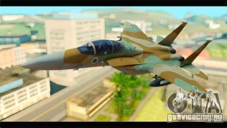 Boeing F-15C IAF для GTA San Andreas