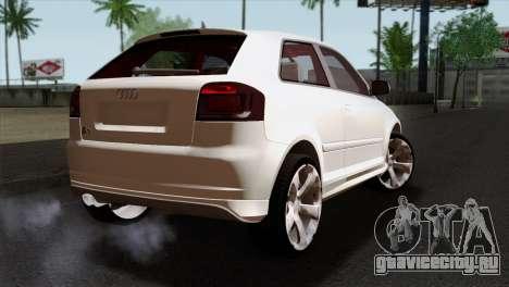 Audi S3 2011 для GTA San Andreas вид слева